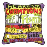 Karaoke Cushions: We are the champions